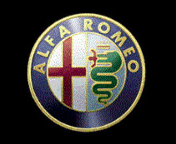 Alfa Romeo snake serpent dragon eating man Kukulkan Quetzalcoatl logo