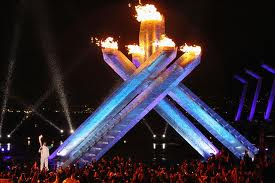 2010 Winter Olympics Vancouver Canada Olympic Opening Ceremonyl Torch Flame