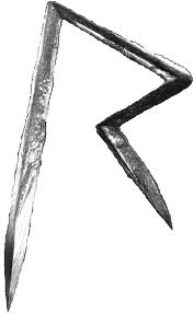 Rihanna 'R' rad raido illuminati music industry magic rune logo''