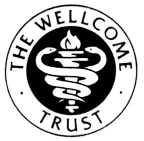 The Wellcome Trust snake serpent dragon logo