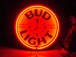 """Bud"" Light logo to be a light be-er bud light is your buddy"
