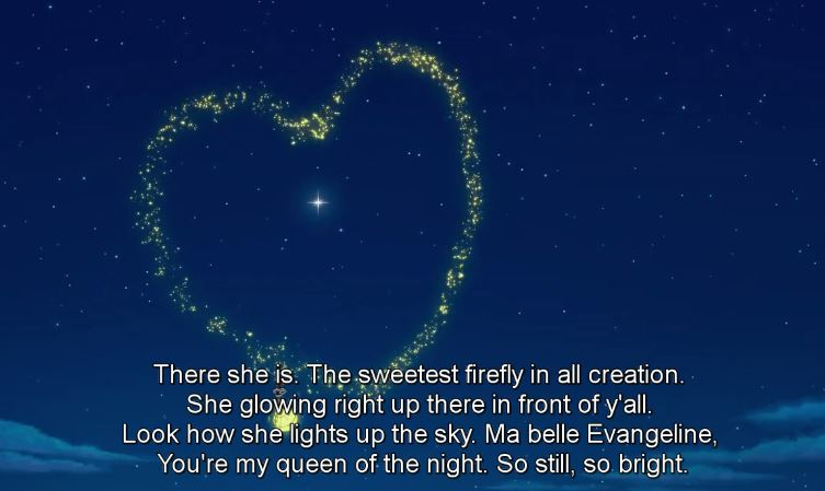 evangeline princess and the frog firefly