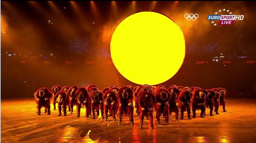 2012 Olympics opening ceremony illuminati witchcraft ritual spell of sun