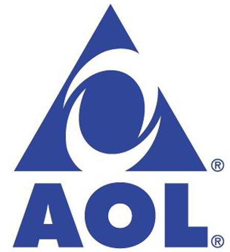 AOL America online eye logo